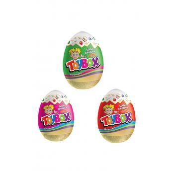 Çikolatalı Oyuncak Yumurta