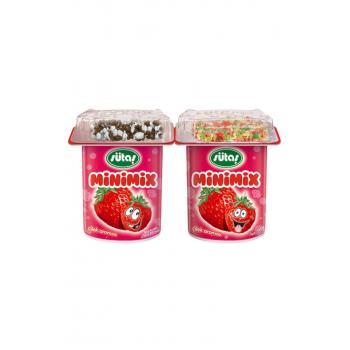 Minimix Meyveli Çilekli Yoğurt 90 Gr