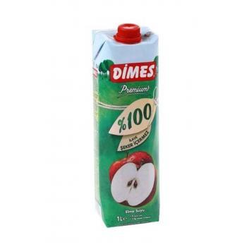 %100 Elma Suyu 1 lt