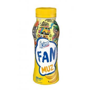 Süt Fan Muz 200 ml