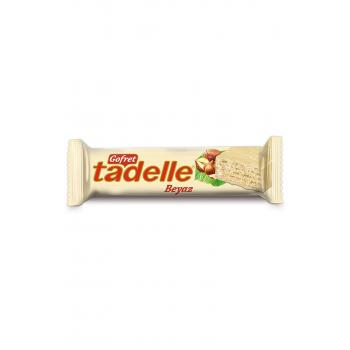 Beyaz Çikolata Kaplamalı Gofret 35 gr