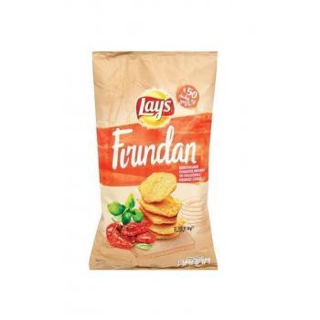Lays Fırından Domates Fesleğen Patates Cipsi 65 gr< 3 paket