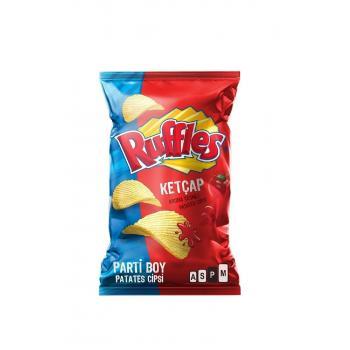 Ruffles Ketçap Çeşnili Patates Cipsi Süper Boy 106 Gr