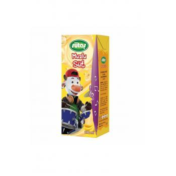 Meyveli Süt Uht Muz 200 ml