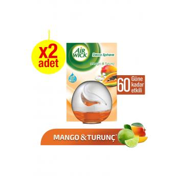 Oda Kokusu Decosphere Mango 2'li Paket 2X75 ml
