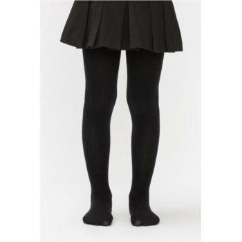 Kız Çocuk Siyah Pretty Micro 40 Külotlu Çorap