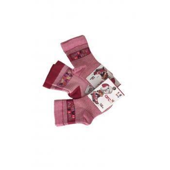 Kız Çocuk Soket Çorap 1-2 Yaş 3 Lü Paket
