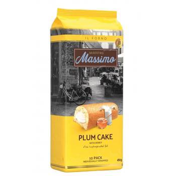Plum Cake Kek Ballı Honey 10pcs Megapaket 450gr