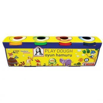 Monalisa Play Dough Oyun hamuru 4 lü 480 gr
