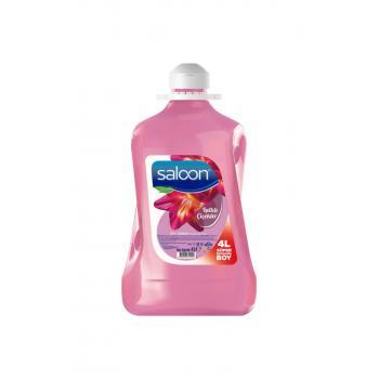 Saloon Sıvı Sabun Işıltılı Çiçekler 4 L
