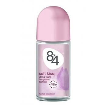 8x4 Roll-On Soft Kiss Kadın 50 ml