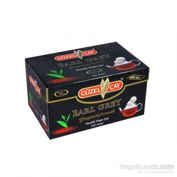 Güzel Çay 100 Adet Early Grey Demlik Poşet Çay