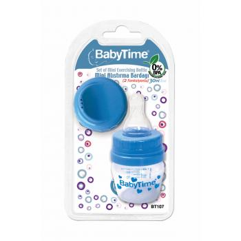 Mavi 2 Fonksiyonlu Mini Alıştırma Bardağı 8699943241070