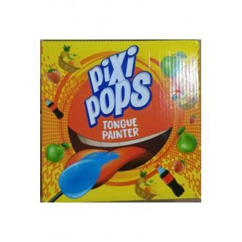 Pixi Pops Ağız Boyayan Lolipop Şeker Karışıkk 120 Adet