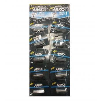 Arko Men Pro 3 Traş Bıçağı 3 Bıçak 10 lu Kartela