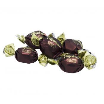 ELVAN Fondante Bitter Çikolata Karamelli açık/ 1000gr