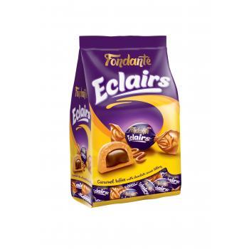 Fondante Eclairs Caramel Toffee 1000 Gr. (1 Poşet)