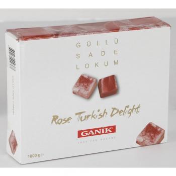 GANİK Güllü SADE   Lokum 1000 gr