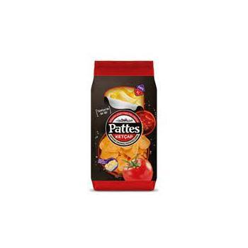 Pattes Ketçap Aromalı Patates Cipsi 100 gr