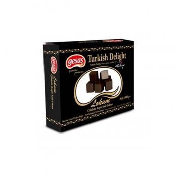 Gesaş Sade Çikolata Kaplamalı Lokum 1 Kg