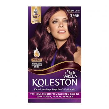 WELLA Koleston Set 3.66 Patlican Moru Saç Boyası