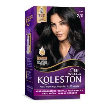 Koleston Set 2.0 Siyah Saç Boyası Wella