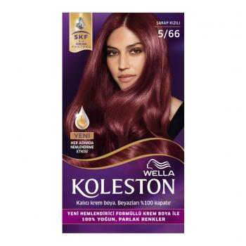 Koleston Set 5/66 Şarap Kızılı Saç Boyası Wella