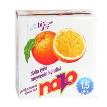 Nazo Toz İçecek Portakal 9 Gr 24'Lü  /PAKET)