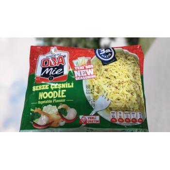 Noodle Obamie Sebze Çeşnili 3 Dk hazır noodle 70 gr * 40 adet